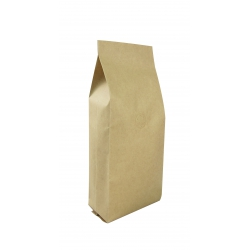 1/4lb Gusseted Bag- Kraft with Valve(FQ-34107D)