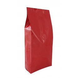 1/2lb Gusseted Bag- Glossy Red with Valve(FQ-20613D)