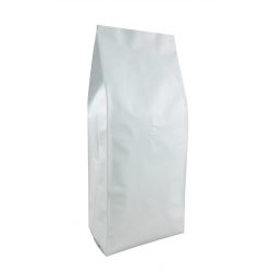 2.2lb Gusseted Bag- Matte White with Italy Valve(FQ-30108A)