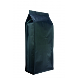 5 lb Gusseted Bag- Matte Black with Italy Valve(FQ-30505A)