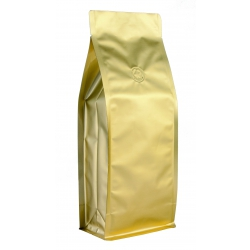 1 lb Box Pouch-Matte Gold with Valve(FQ-16801MD)