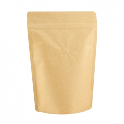 1/2lb Stand Up Bag- Kraft with Valve(FQ-22107D)