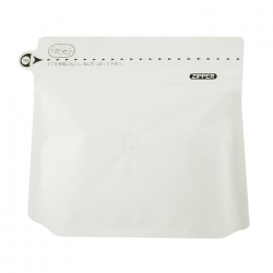 Japan Imported Stand Up Bag-Matte White-200g(JF-010638D)