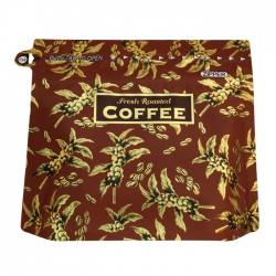 Japan Imported Stand Up Bag-Fruit Pattern-Brown(JF-010619D)