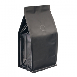 1/2lb Box Pouch-Matte Black with Valve(FQ-26805MD)