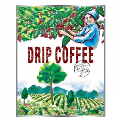 Drip Coffee Bag-Pastoral Harvest Pattern(FQ-37701)