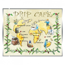 Drip Coffee Bag-World Map Pattern(FQ-311)