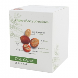 Drip Coffee Box-Coffee Cherry Pattern(FQ-322)