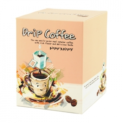 Drip Coffee Box-Pink Smile Cup Pattern(FQ-491)