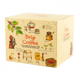 Drip Coffee Box-Grow Up Pattern(FQ-492)