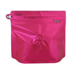 Japan Imported Stand Up Bag-Matte Hot Pink-200g(JF-010614D)
