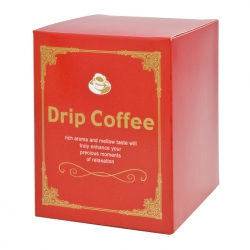 Euro Series Drip Coffee Box-Red(FQ-36203)