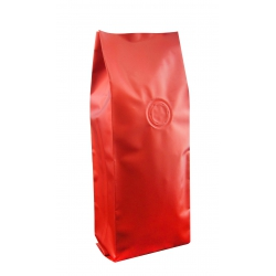 1/4lb Gusseted Bag- Matte Brown with Valve(FQ-34104D)