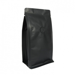 1/4lb Box Pouch-Matte Black with Valve(FQ-46805MD)