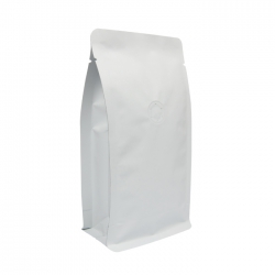 1/4lb Box Pouch-Matte White with Valve(FQ-46808MD)