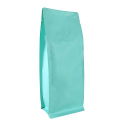 1 lb Box Pouch-Matte Water Blue with Valve(FQ-16821MD)