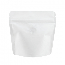 70g Stand Up Bag - White Kraft with Valve