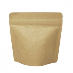 70g Stand Up Bag - Kraft with Valve