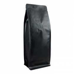 1/2lb Narrow Box Pouch-Matte Black with Valve(FQ-29805MD)
