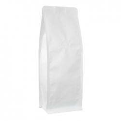 1/2lb Narrow Box Pouch-Matte White with Valve(FQ-29808MD)