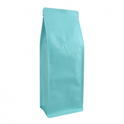 1/2lb Narrow Box Pouch-Matte Water Blue with Valve(FQ-29823M